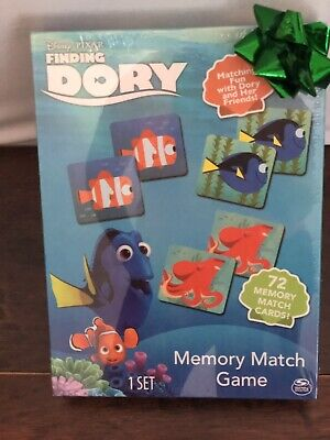 New Finding Dory Memory Match Game Disney Pixar Sealed Kids Cards