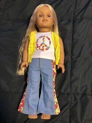 American Girl Doll Julie Albright Blonde Doll Excellent Condition