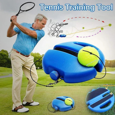Solo Tennis Trainer - Intensive Tennis Practice Single Self-Study Training Tools