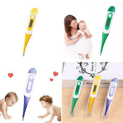 LCD Digital Body Thermometer Baby Kids Adult Human Home Fever Temp Measuring NEW