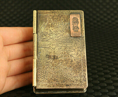 Republic of China (1912-1949) bronze ink box collectable noble gift