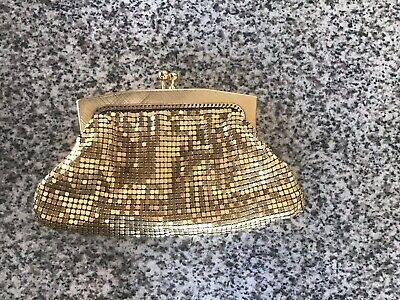 Vintage Gold Glomesh Coin Purse