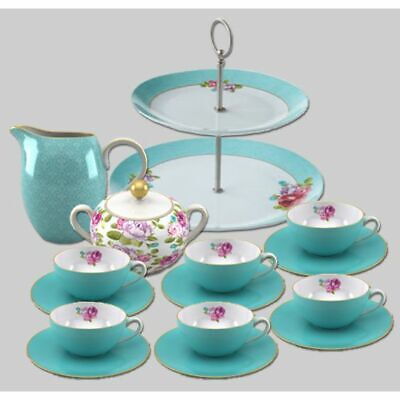 tea set with cake stand + Sugar Bowl + Milk Jug + 6 cups & saucers + FREE Del