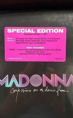 MADONNA Confessions On A Dance Floor US SPECIAL EDITION CD 49464-2 New, Mint!!