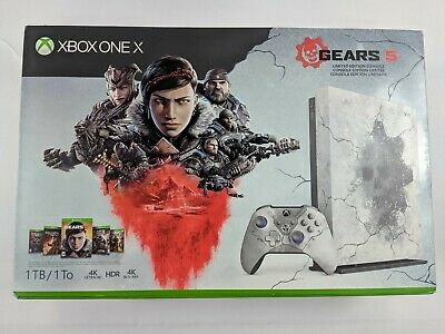 New Microsoft Xbox One X 1TB Gears 5 Limited Edition Console - DS1901