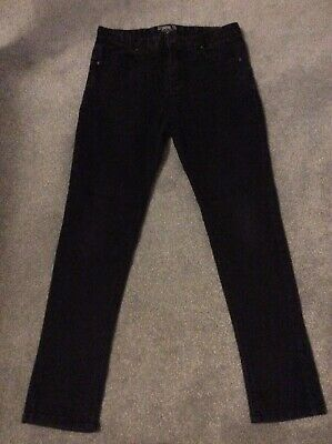 Boys Black Skinny Jeans By Sonnetti Age 10-12 Years