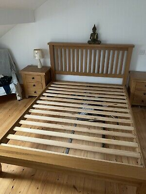 solid oak bedroom furniture set