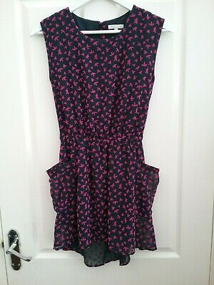 Marks and Spencer Indigo Girls Blue/Pink Dress Age 11/12 Years  New