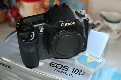 Canon EOS 10D Digital SLR Body Only SPOTLESS MINT CAMERA 6.3MP BOXED PRICE DROP