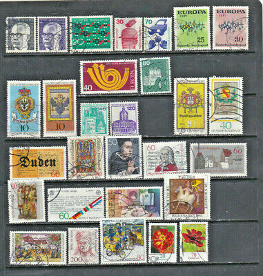 Germany 1971 - 2005, used collection, good cat. val.
