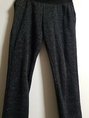 Girls Sparkly  Jogging Tracksuit Trousers Size 7-8