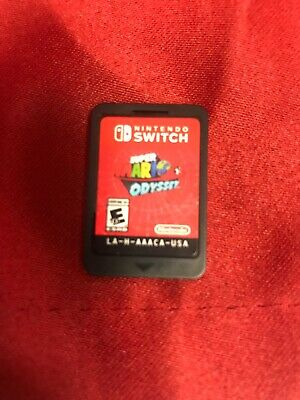 Super Mario Odyssey (Nintendo Switch, 2017) VGC *CART ONLY* L@@K