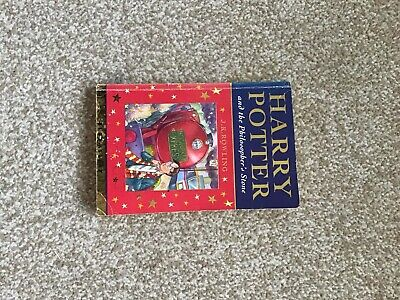 Harry Potter & the Philosopher's Stone 1st Edition 1st print paperback
