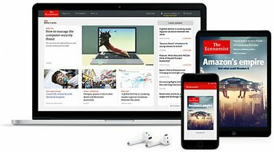 The Economist 2 Years Digital Subscription Account PC, Tablet, Android, Iphone