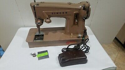 Singer Sewing Machine Model 329K #Es-794435 (1961)