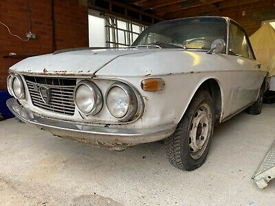 Lancia Fulvia 1.3 S Rallye 1969 Barn Find Restoration Project Spares Classic