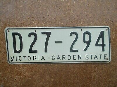 License plate Number plate VIC EARLY TRAILER