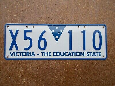 License plate Number plate VIC  TRAILER
