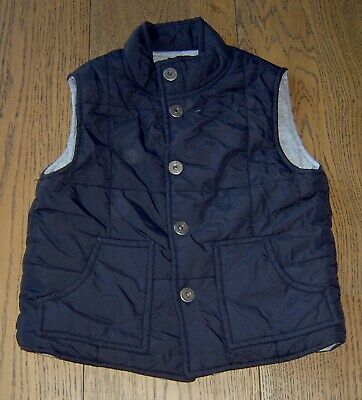 Fred Bare Boys Black Puffer Vest Sz 3