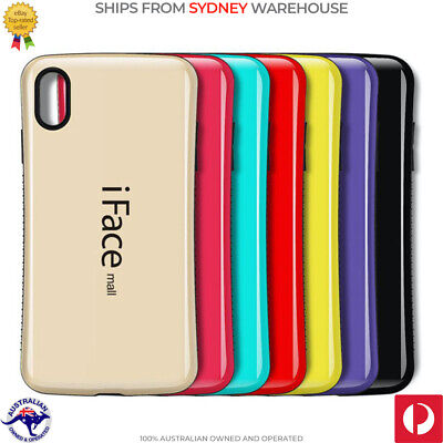 iFace Mall Shockproof Cover Non-Slip Heavy Duty Case for Apple iPhone 7 8 X XS