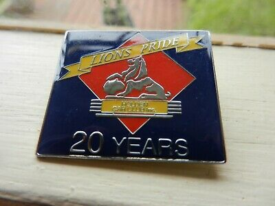 Holden Car Club ,Lions Pride 20 Years Pin On Badge