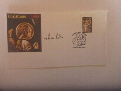 Most Ev Peter Frederick Carnley Hand Signed  1984 Christmas Australia Fdc