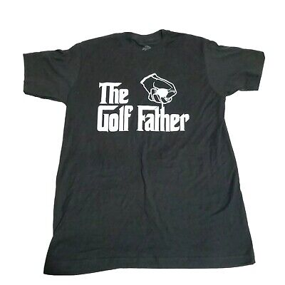 Funny Golf Tshirt The Golf Father Tee Mens Medium Fathers Day Grandpa Dad Gift