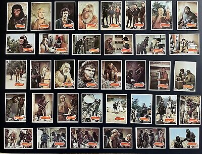 """1975 Topps """"Planet of the Apes"""" Cards. Excellent Condition. Lot of 56."""