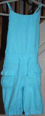 Beautiful turquoise Marks & Spencer shorts playsuit to fit girls aged 8yrs