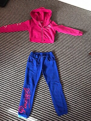 Pineapple Girls Tracksuit Age 7-8