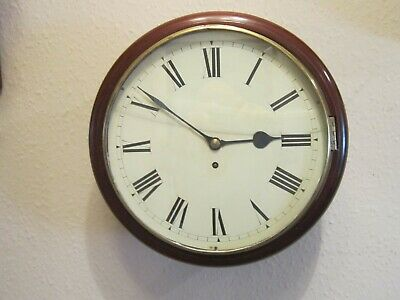Genuine antique fusee dial clock dated 1879