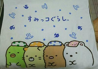 Sumikko Gurashi Bath Towel M Sea San-X Japan