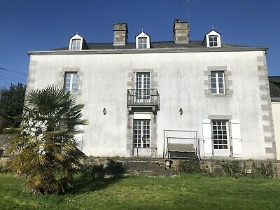 Major Portion Of French  Country House For Renovation. Pays De La Loire, France.