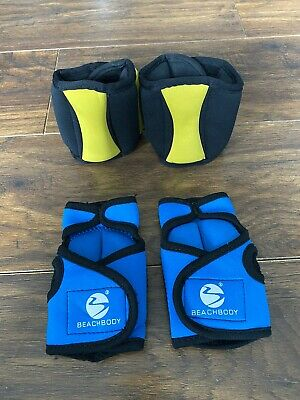 Beach Body Weighted Sculpting Gloves Hand Wrist Weights And Ankle Weights.