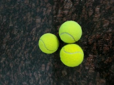 24 Used Yellow Tennis Balls(assorted brands) Good for practice, pooch, furniture