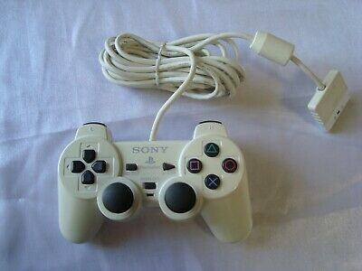 Official SONY PlayStation PSX White Analog DualShock 2 Controller DESR-10