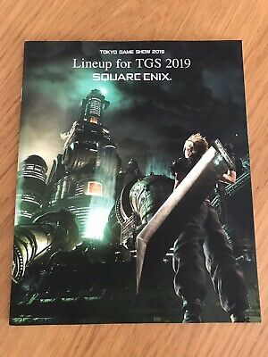 Final Fantasy VII Remake TGS 2019 Lineup Square Enix Playstation PS4 FFVII
