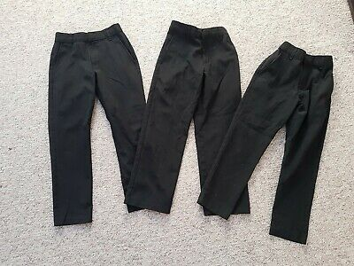 Boys School Trousers skinny fit From Marks And Spencer.age 6- 7 Year's