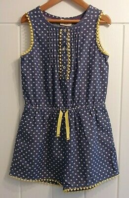 Mini Boden Girls Spotty Playsuit. Age 5-6 years