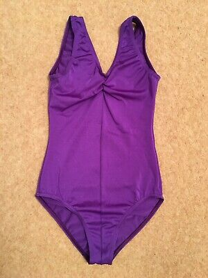 Purple Dance Ballet Girls Leotard Size 3A Suitable For 5-6 Years