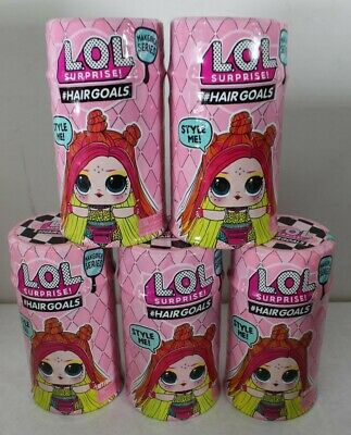 LOT 5 LOL Surprise! Hairgoals Makeover Series Wave 2 Dolls New Free Shipping