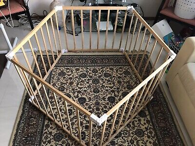 Baby / Child barrier. Playing cage. 5 pieces