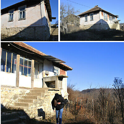 House & Land in South Europe Bulgaria Hill View Rural Holiday Bulgarian property