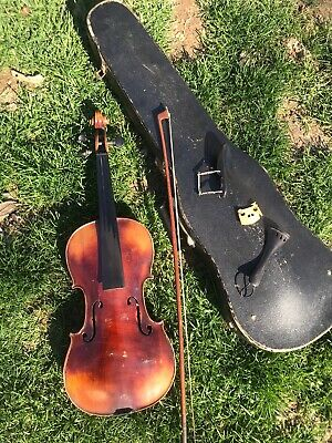 Vintage Jacobus Stainer Violin Copy With Bausch Copy Bow And Case