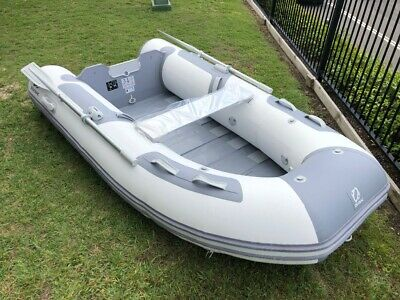 DISPLAY BOAT 2018 Inflatable Zodiac Cadet 270 Roll-Up Tender | White and Grey