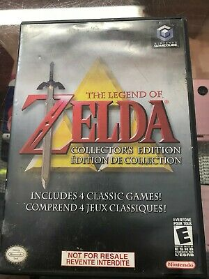 The Legend Of Zelda Collectors Edition -Nintendo GameCube ORIGINAL GAME + BOX