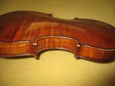 Rare Old Antique Early 1800s German? Italian? 4/4 Violin Sweet WarmTone !
