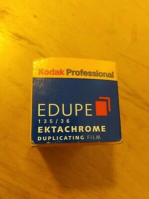 Kodak Ektachrome EDUPE Professional Duplicating Film (135/36) EX 04-05 unopened