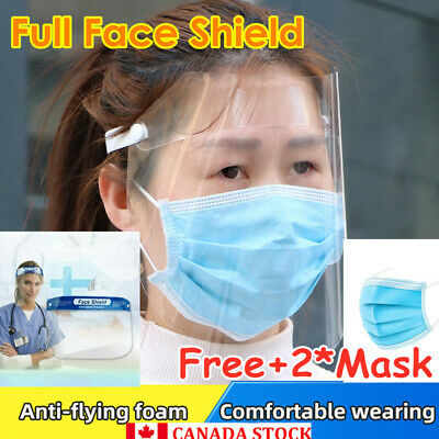 Safe Full Face Shield With Clear Face Transparent Anti-fog Work Industry m