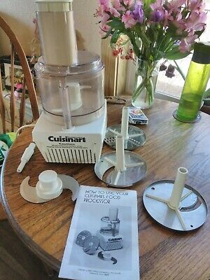 CUISINART MODEL CFP9 Vintage Food Processor Robot Coupe Made in France
